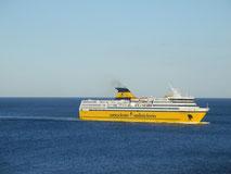 Le Mega Express Two de retour sur les lignes France-Corse pour la saison 2013