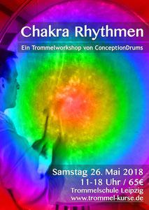 Chakra Rhythmen- Ein Trommelworkshop von ConceptionDrums