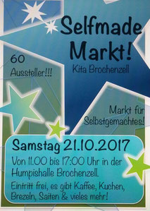 Selfmade-Markt in Brochenzell am 21.10.