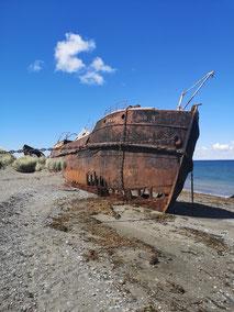 Shipwrek, Patagonien, Schiffswrack