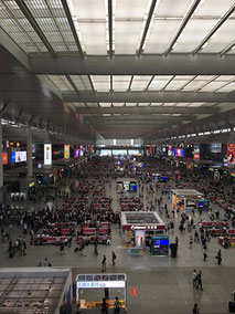 Bahnhof, Railway Station, Hangzhou, China