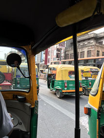 TukTuk, Delhi, Indien, Verkehr