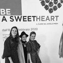 Be A sweet Heart exhibition - opening with Rossella Catapano and Alexia Stock