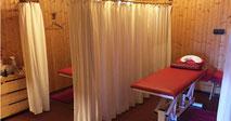 Massageinstitut Castellez Kabinen