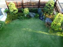 庭木の配置写真