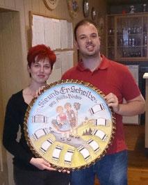 Siegerpaar Annette & Christian Betz
