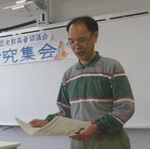 2015 かなれき総会 事務局長 高木さん