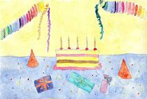 Grußkarte Geburtstag, Kindergeburtstag
