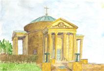 Grußkarte Ortenberg Kapelle