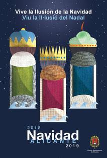 Fiestas en Alicante Cabalgata de Reyes