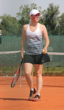 Lisa Propp und die Damen 1 des TSV Offingen konnten die Saison auf einem hervorragenden zweiten Platz abschließen.