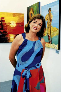 Artist Yolanda Velasquez