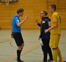 V. Manthey und OTSV-Trainer Olaf Lehmann treffen sich Samstag wieder
