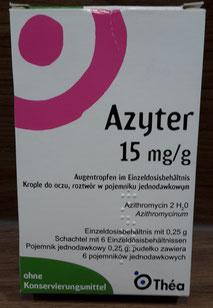 Azyter Augentropfen für Trockene Augen