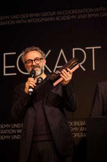 Massimo Bottura geehrt mit dem ECKART 2015 für Innovation ©BMW Group
