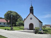 Die Bruder-Klaus-Kapelle in Wolfsricht. pde-Foto: Bruder-Klaus-Verein Wolfsricht