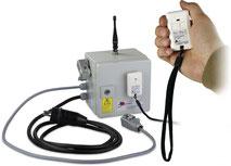 Funkfernsteuerung FFB 2 für die Flockenweiche pneumatisch