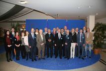 Vorstand der Ärztekammer Nordrhein zusammen mit VFB NW-Geschäftsführer Busshuven