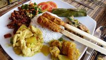 leckere balinesische Gerichte Mai 2015
