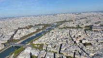 Paris von Oben, 28. September 2015