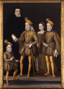 Catherine et ses enfants. (Source : http://bit.ly/1CFnelJ)