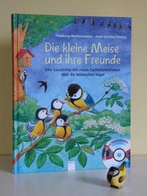 """Das Buch """"Die kleine Meise und ihre Freunde"""""""