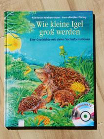 """Das Buch """"Wie kleine Igel groß werden"""""""