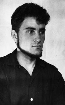 Студент Анатолий Цупак. 1961 г.