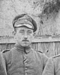 Valentin Gabel als Soldat