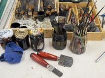 Werkzeuge für den Tiefdruck