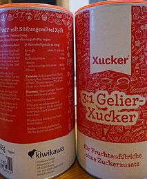 Gelierzucker mit Birkenzucker (Xylit)
