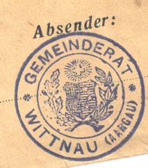 «Gemeinderat Wittnau (Aargau)» (1930, Privatarchiv Wittnau)