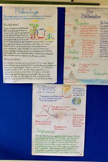 Plakate zur Meteorologie, Wetterballons und Triopsen