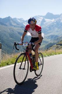 Andreas Goldberger beim Ötztaler Radmarathon 2015  © Ötztal Tourismus