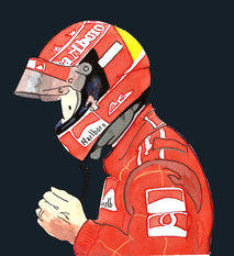 Michael Schumacher by Muneta & Cerracín
