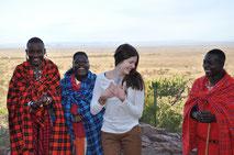 Immersion chez les Massaï