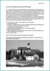 Kommunalwahl Broschüre 2008-2