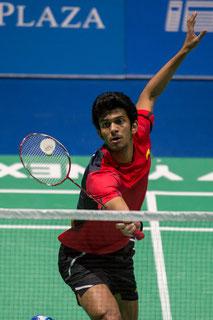 Ajay Jayaram (IND)/ Foto: Bernd Bauer