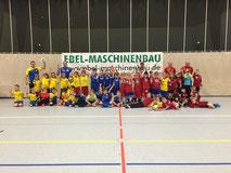 F-Jugendteams beim Ebel-Cup