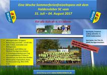 HSC Fußball- und Freizeitcamp 2017