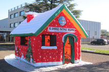 Casa di Babbo Natale Gonfiabile, Santa Claus Home Inflatable Tent