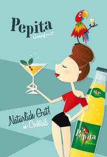 Pepita Plakat 2014 Frau 2