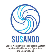SUSANOO Space-weather-forecast-Usable System Anchored by Numerical Operations and Observations