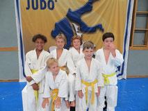 Foto: Yonathan Pieber, Jonas Richter, Max Allwardt, Noah Wiesinger (hinten v.l.n.r.), Paul Schllinger, Philipp Bauer (vorne v.l.n.r.)