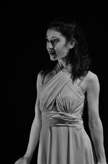 Ela Steiner auf der Bühne