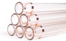 Glas Rohr, Glasrohre, Borosilikatglas 3.3