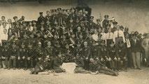 Ein Mannschaftsfoto anläßlich 25 Jahre FF Großraming am 20.Juli 1919