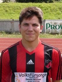 Robin Axel erzielte seinen ersten Treffer im ersten Spiel.