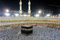 La Ka'aba à la Mecque