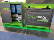 Greenrock Salzwasser Batterie Gewerbe Stromspeicher Akku Alternative zu Lithium H2